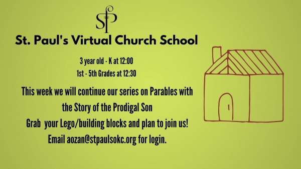 Join us for Virtual Church School