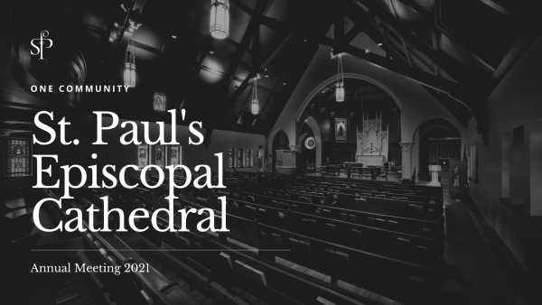 St. Paul's Annual Meeting 2021